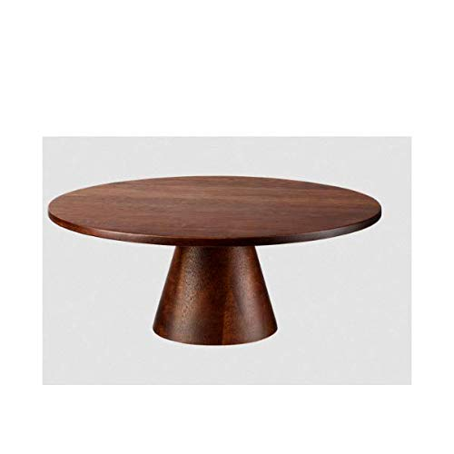 ASA - Tortenplatte, Kuchenplatte - Wood - Akazienholz - braun - (ØxH) 21 x 8,2 cm
