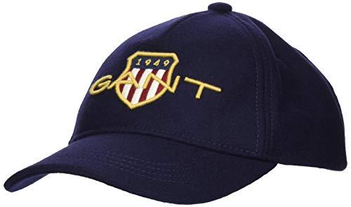 Gant D1 Archive Shield Cap Orejeras, Azul clásico, Talla única para Hombre