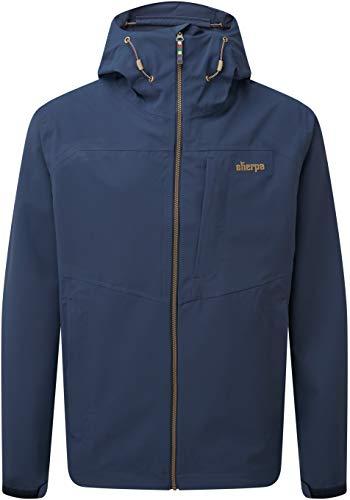 Sherpa Herren Pumori Jacket Regenjacke Blau/Schwarz XXL