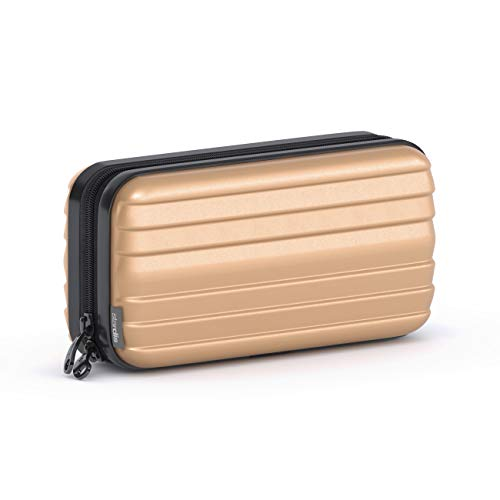 stardis Kosmetiktasche Hartschale Kulturtasche (Sand-Creme)