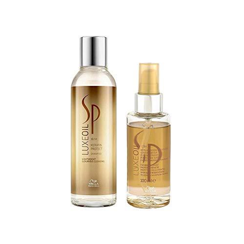 Wella SP Luxe Oil Set (Shampoo 200ml + Oil 100ml)