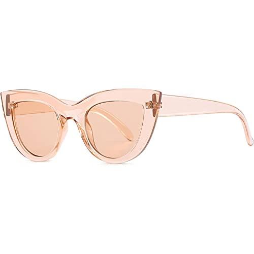 AMFG Gafas de sol para mujer All-Match Gafas de sol al aire libre Sombrilla de sol parabrisas Driving Mirror (Color : D)