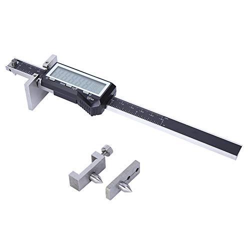 Calibrador a vernier digital, herramienta de trazado paralelo, medidor de espesor de acero inoxidable, 0-150 mm, herramienta de medición micrométrica, para medición doméstica/bricolaje