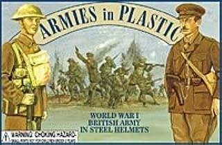 British Army in Steel Helmets (20) 1-32 Armies in Plastic