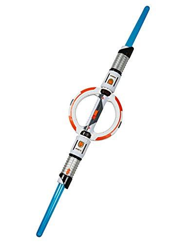 Deiters Lichtschwert mit Doppelklinge blau