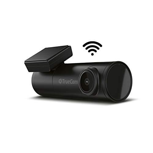 TrueCam H7 2,5K GPS Dashcam, Autokamera mit Auflösung 2.5K (30 fps), schnelles 5 GHz WiFi, Datenbank 40 tausend Radare in Europa, G-Sensor, GPS + Radarwarner, WDR, G-Sensor, automatischer Start