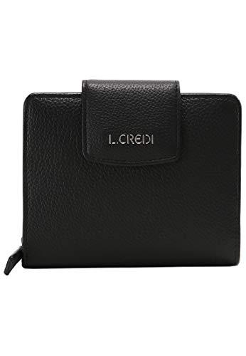 L.Credi Maranello Geldbörse Leder 12,5 cm