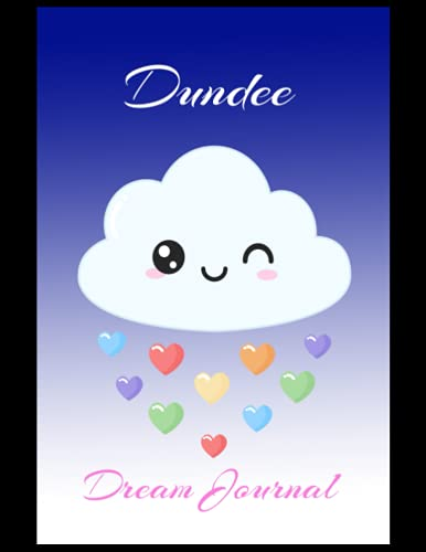 Dundee: Dream Journal, Dundee FC Journal, Dundee Football Club, Dundee FC Diary, Dundee FC Planner, Dundee FC