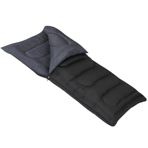 Mountain Trails Allegheny 25-Degree Schlafsack, schwarz