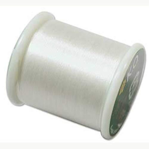 Japanese Nylon Beading Thread by KO for Delica Beads IVORY 42759