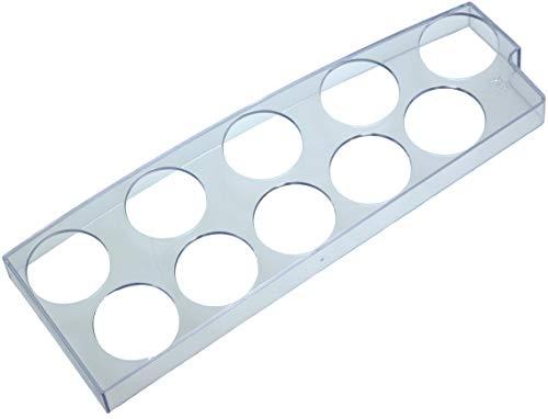 Piebert 10er Eiereinsatz Eierhalter 27x9x2cm | Universell für Kühlschränke