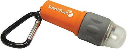 ust SplashFlash Waterproof LED Flashlight, Orange