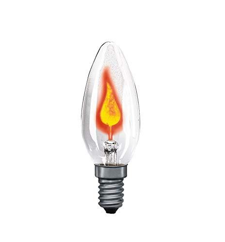 Paulmann 530.00 Flackerkerze 3W E14 Glas Klar 53000 Leuchtmittel