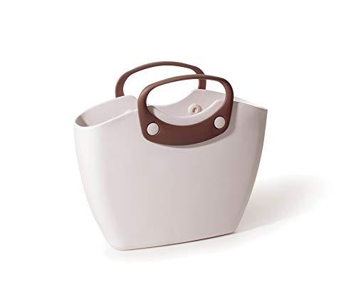GF Garden FOR The Living Bag Bolso De Plástico, De Hombro, Shopper, Colorido