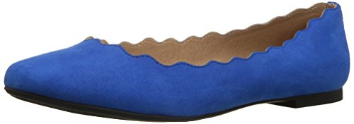 Athena Alexander Women's Toffy Ballet Flat, Royal Suede, 7 M US