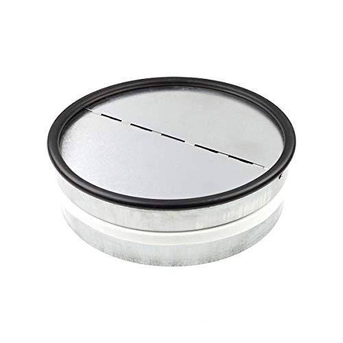 neverest RKI 200 mm - Válvula Antirretorno Reduce el Ruido y Evita el Aire Frío por Tubo de Ventilación
