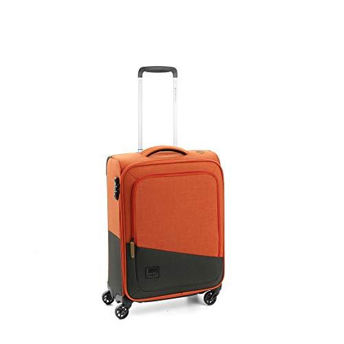 Roncato Maleta Pequeña XS Blanda Adventure - Cabina cm. 55 x 40 x 20 Capacidad 43 L, Ligero, Organización Interna, Cierre TSA, Aprobado para: Ryanair Easyjet Lufthansa, Garantìa 2 años