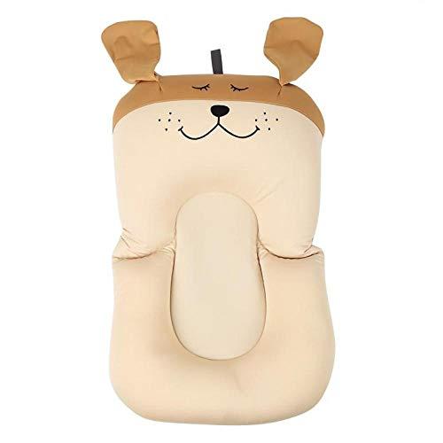 Baby Badewanne Pad Rutschfeste Badewanne Sitzkissen Weiches Duschbett Schwimmende Luftkissenmatte Neugeborenes Kleinkind Kleinkind Badekissen-Brauner Hund