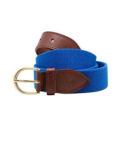 El Ganso Cinturón Elástico Liso Azulón