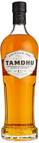 Tamdhu 12 Years Old Speyside Single Malt Scotch Whisky (1 x 0.7 l)