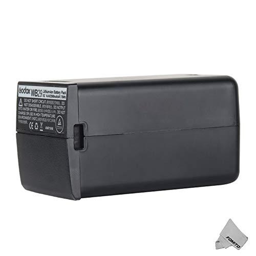 Godox WB29 DC 14.4V 2900mAh 41.76Wh リチウム電池 用 Godox AD200pro AD200 Flash