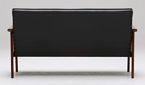 【カリモク正規品】カリモク60Kチェア2シータースタンダードブラックW36173BWKソファーkarimoku