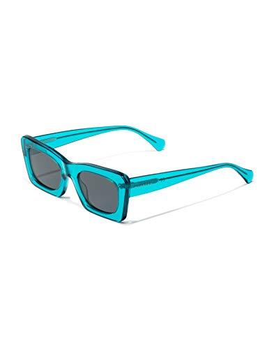 HAWKERS Lauper Gafas de sol, Azul claro, One Size Unisex-Adult