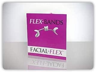 Facial-Flex Replacement Bands - Pack of 10 Facial Flex Bands, 6 Oz. Resistance - 3 Month Supply for Facial Flex Facial Exercise Devices