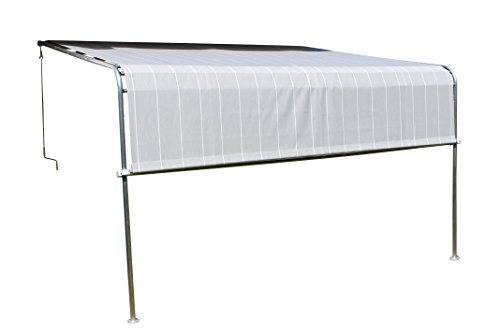 Leco Terrassenüberdachung Komfort, anthrazit, 300 x 400 x 260 cm, 27000114
