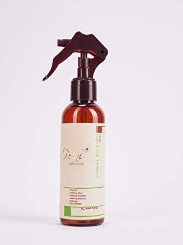 peini Natural de Manteca de Karité cuero cabelludo Tratamiento, trenzado brillo spray–200ml–natural & Orgánico Cuero Cabelludo Tratamiento contiene aceite de coco, aceite de oliva y T Árbol