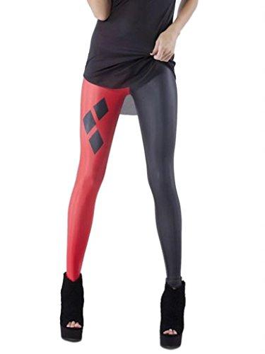 La vogue Damen Leggings Strumpfhose Treggings Pants Color19