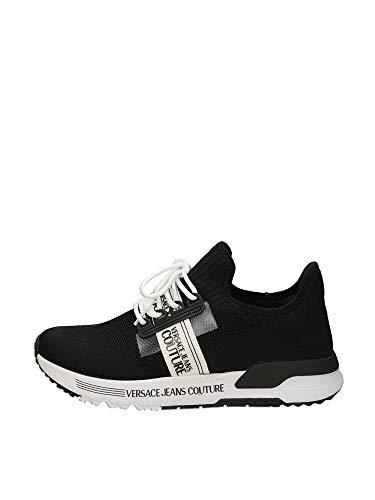 Versace Jeans Couture E0Ywasa771930 Zapatillas Bajas Hombre Negro 41