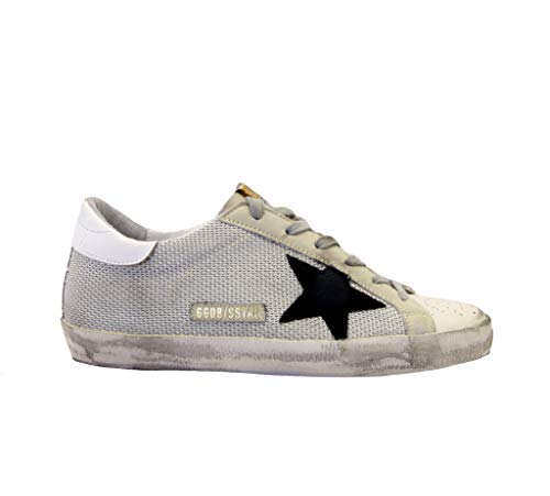 Golden Goose Sneakers Superstar wit net