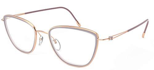 Gafas de Vista Silhouette LITE DUET 4555 Rose Gold Lilac 50/