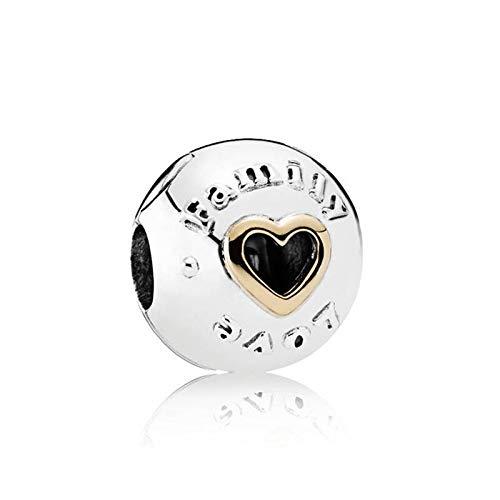 Fit Original Pandora Bracelets 925 Sterling Silver Charm Bead Family Love Clip Women Bangle Diy Jewelry Gift