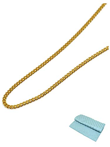[ジュエリーコトブキ] 18金 喜平 ネックレス チェーン K18 18k 50cm (お磨きクロス付 ギフトセット)