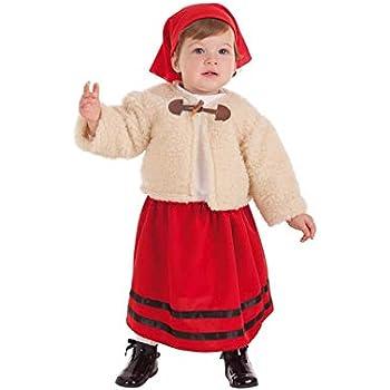 Disfraz de pastora para niña - 3-4 años: Amazon.es: Juguetes y juegos