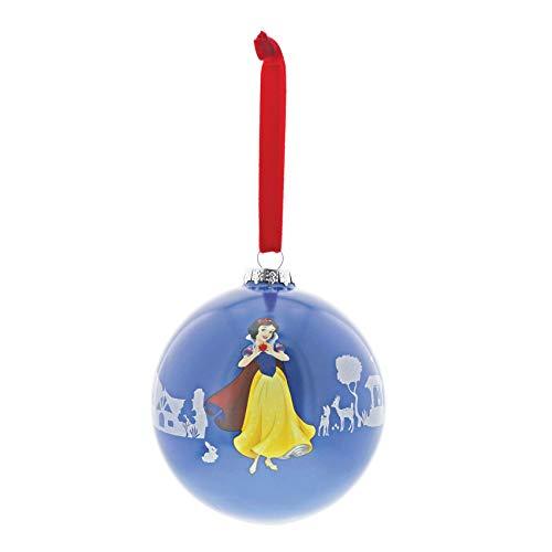 Enchanting Disney Palla di Natale Biancaneve e I Sette Nani, 10.5 cm