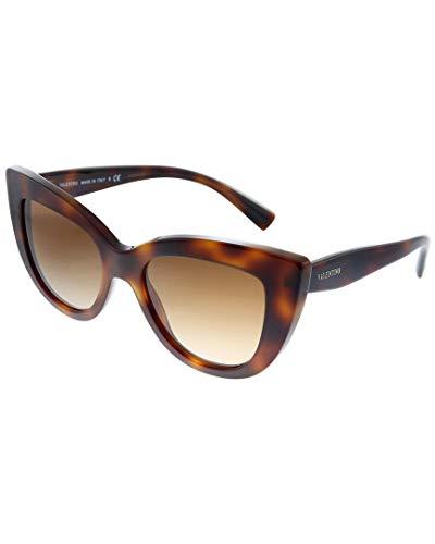 Valentino Gafas de sol VA4025 501113 Gafas de sol Mujer color Marrón Habana tamaño de lente 51 mm