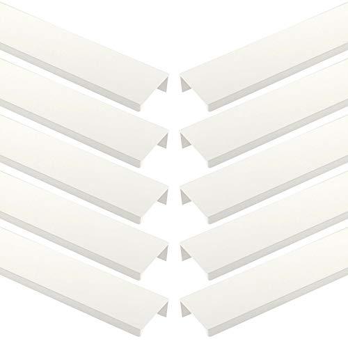 Sotech 10 x uchwyt gwintowany Blankett Jane 330 mm biały uchwyty szafkowe uchwyty meblowe uchwyty do szuflad