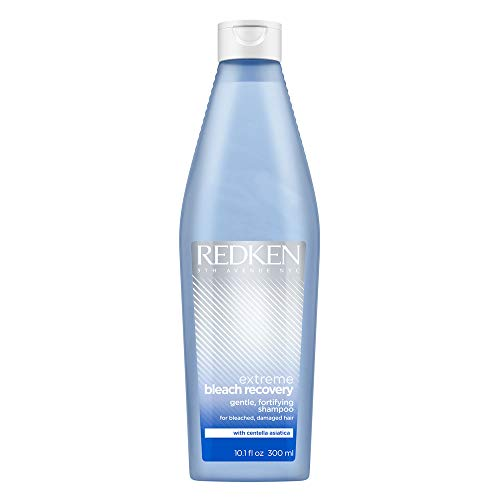 Redken Extreme Bleach Recovery Shampoo | For Bleached Hair | Restores Strength, Softness & Shine | Silicone Free | 10.1 Fl Oz