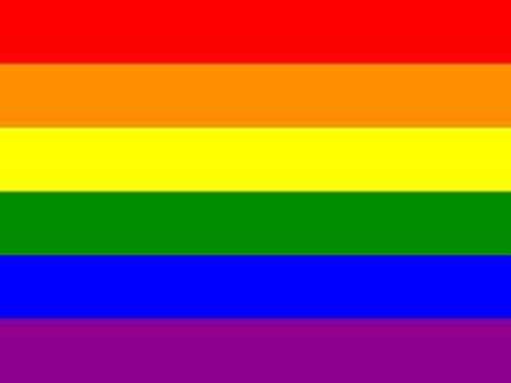 Bandera LGBT arcoiris simbolo Gays, Lesbianas 150x90cm