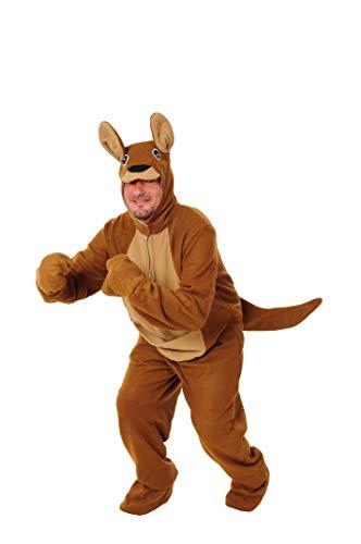 Känguru Kostüm offen Einheitsgrösse XXL Fasching Karneval Fastnacht Junggesellenabschied Motto Party