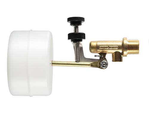 Float-Tec Letro Pentair T26 EZ Brass Float Valve with EZ Adjustment Autofill Water Filler Leveler