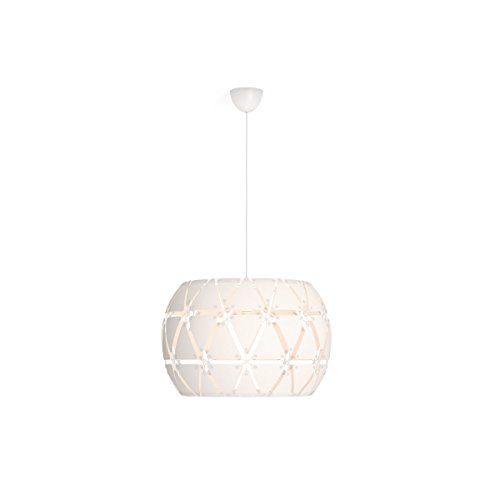 Philips Lighting 4091731PN Smart Volume Sandalwood Lampada Sospensione Lampadario Design Moderno, Cromato, 60 cm
