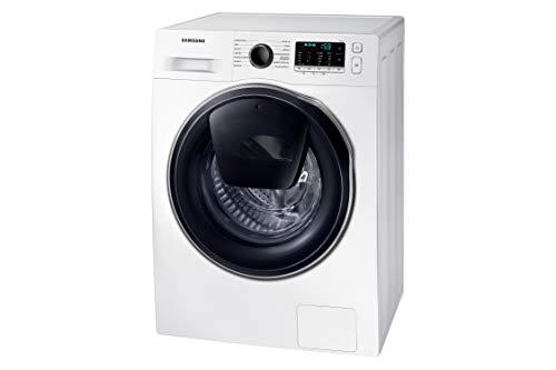 Samsung Elettrodomestici WW8NK52E0VW/ET Lavatrice Slim 8 kg AddWash, 1200 Giri, Slim, Profondità 46.5 cm, Bianco