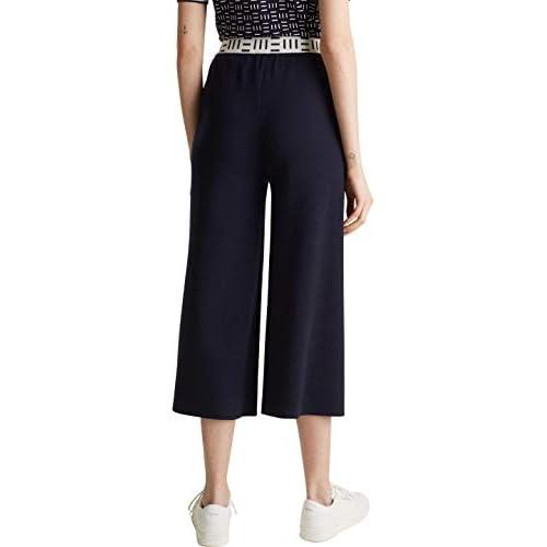 ESPRIT Collection 020eo1b323 Pantaloni, 400/Navy, M Donna