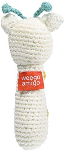 weegoamigo(ウィーゴアミーゴ)ラトル赤ちゃんおもちゃガラガラぬいぐるみ新生児CrochetRattlesGiraffeジラフGTCRRA0721