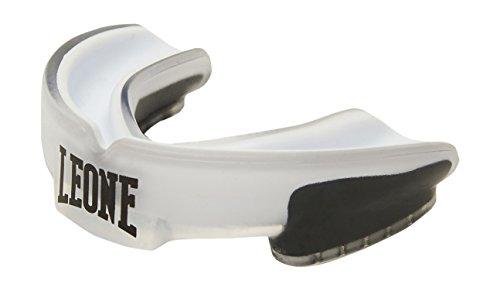 LEONE 1947 Pd513 Protector bucal, Unisex Adulto, Color Blanco, Talla única