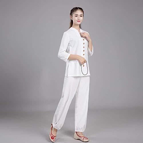 JTKDL Kung Fu pak, Tai Chi kleding linnen meditatie heren yoga lay kleding